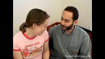 Innocent schoolgirl works her teachers cock for extra credit