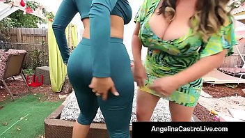 Cuban Queen Angelina Castro Goes Balls Deep & Bangs Miss Raquel with a Big StrapOn that makes both these girls Cum Like Never Before! Full Video & Angelina Castro Live @ AngelinaCastroLive.com