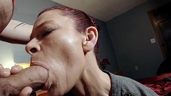 I throated my friend's m. hard for a big debt.. Brutally