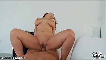 Brunette honey with big tits Lexxxi Lockhart ride cock
