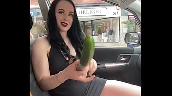Want to see what ellie louise does when she's out in the car with fruit?