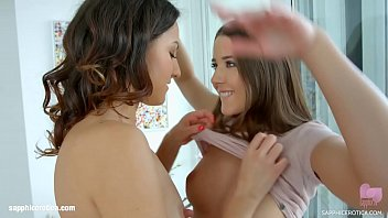 Lesbians Suzy Rainbow and Sybil in Hold me tight by SapphiX