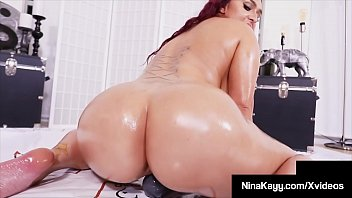 Finger fucking phat ass, Nina Kayy, lubes her thick twat with oil, masturbating her slippery snatch until she jets her girly cum & orgasms! Full Video & More Nina Kayy @ NinaKayy.com!
