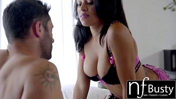 NF Busty - Ebony Beauty Begs For Cum On My Big Tits