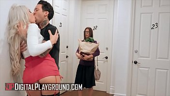 Alexis Fawx watches while Carmen