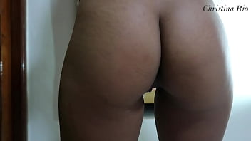 ROUGH DOGGY LOUD MOANING and CUM ON ASS Christina Rio