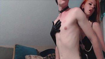 Fetish Girls fuck slaves with strapon
