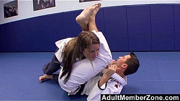 The Judo Teacher Also Gives Megan Fenox Great Fucks