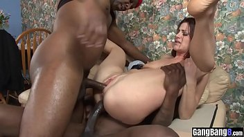 Slender girl got fucked in a every hole