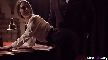 Secretary gets her desired fantasy with her hot boss