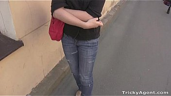 Tricky Agent - Her pussy is wet and tight