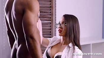 Dark Dicked Diva Anastasia Brokelyn knows how to mouth fuck but when a big black cock shows up - she c., coughs, spits & then drain that chocolate cock dry! Full Flick & 1000s More at Private.com!