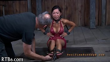 Stormy caning for lusty sweetheart