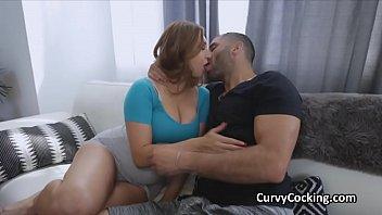 Juicy big tit girlfriend enjoys a hard fuck