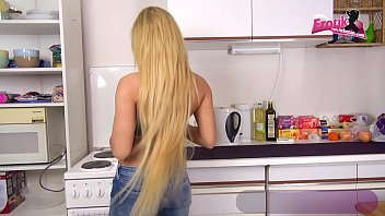 Amateur Blondine Anal Creampie