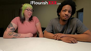 Casting BBC Ronnie Hendrixxx and PAWG  - Green Hair