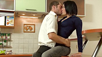 Stunning asian russian slut seduced and screwed at home