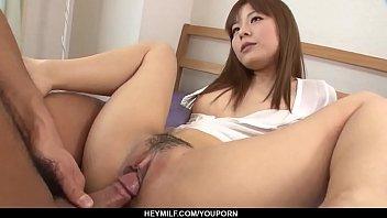 Hot japan girl Anri Sonozaki receive dick in ass