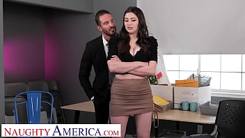 Naughty America - Alyx Star uses her best assets to assert dominance