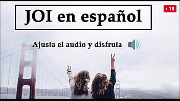 Tu pareja y su amiga te masturban, instrucciones para masturbarse con voz española.