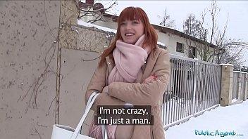 Public Agent German redhead Anny Aurora loves cock