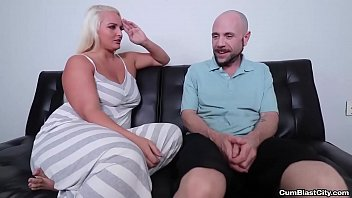 cumblast-Busty blonde gets a facial