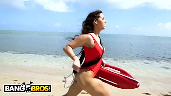 BANGBROS - It's All In A Day's Work For Thicc Latin Lifeguard Valerie Kay