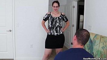 Mature woman cock sucking