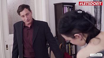 LETSDOEIT - Teen Secretary Submit To Her Boss And Bangs With Him At The Office - Anny Aurora