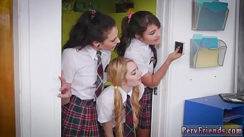 Student lesbians their female teacher