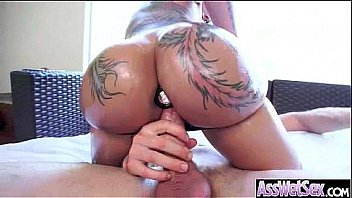 Anal Sex Tape With Oiled...