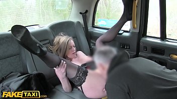 Fake Taxi British MILF with large boobs shagging a cabbie while her husband is at work