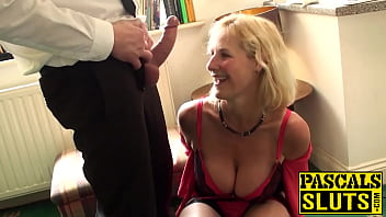 Mature slut with big tits fucked hard
