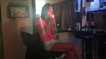 Smoking pussy upskirt