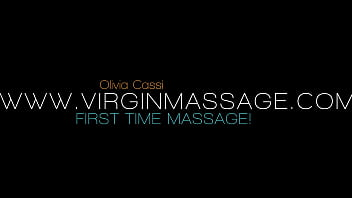 Orgasmic first time defloration massage with Olivia Cassi