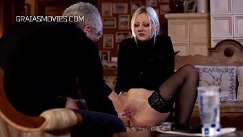 Blonde slave whore stripped