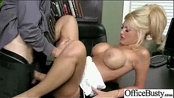 Sex Tape With Horny Big Juggs Girl In Office mov-20