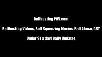 Ballbusting and Ball Kicking Humiliation
