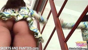 Come outside and I will show you my panties