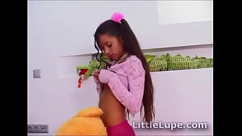 Little Lupe gets naughty
