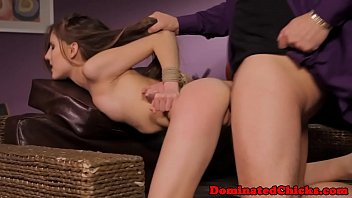 Tiedup submissive slave pleasures master