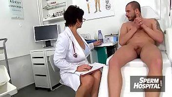 Role play scene from sperm hospital with hot nurse lady Koko