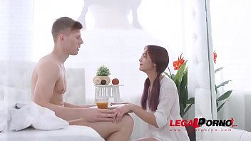 Ultra Naughty Teen babe Michelle Can enjoys 1st Facial after Hardcore Fuck GP077