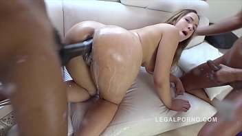 Interracial DAP To The Extreme With Briana Bounce Ass Fucked Balls Deep