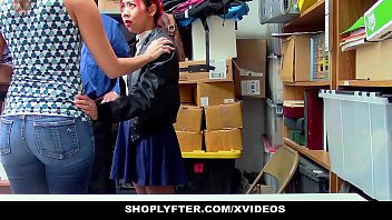 ShopLyfter - StepMother (Christy Love) and StepDaughter Share Security Cock