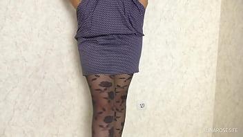 Thigh Fuck Secretary in Pantyhose