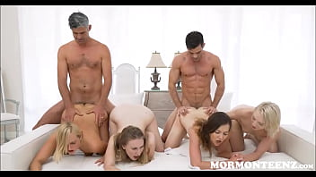 Young Petite Mormon Girls Kate England And Trillium Sex With Bosses With Big Cocks