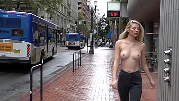 Tits out in public