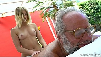 old man gets full body massage from naked then, then fucks her