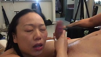 Real Asian Milf Blows Young Teen Amateur